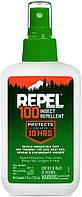 10 часов защиты. Спрей от комаров REPEL 100 Insect Repellent. Сделано в US. 100% Deet. 100 ДЭТА