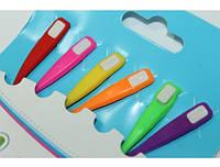 Шнурки SHN обувные силиконовые (Разноцветные/6шт/12см)