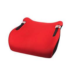 Автокресло бустер детское Junior E20 без бортиков ( 15-36 кг ) красный (A2024)