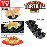 Форма для тарталеток Perfect Tortilla Pan Set (4 шт)