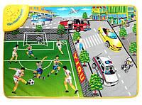 Музыкальный коврик для малышей Футбольное поле YQ 2909