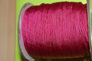 Нейлоновый шнур. Цвет-розовый (1,5 мм)