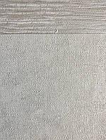 Обои виниловые на флизелине Marburg City glam метровые под штукатурку серые серебристые