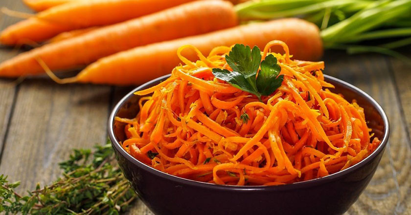 Морковка по-корейски  1кг (весовая)