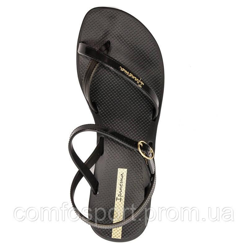 Женские сандалии босоножки Ipanema  82682-20766  эбони