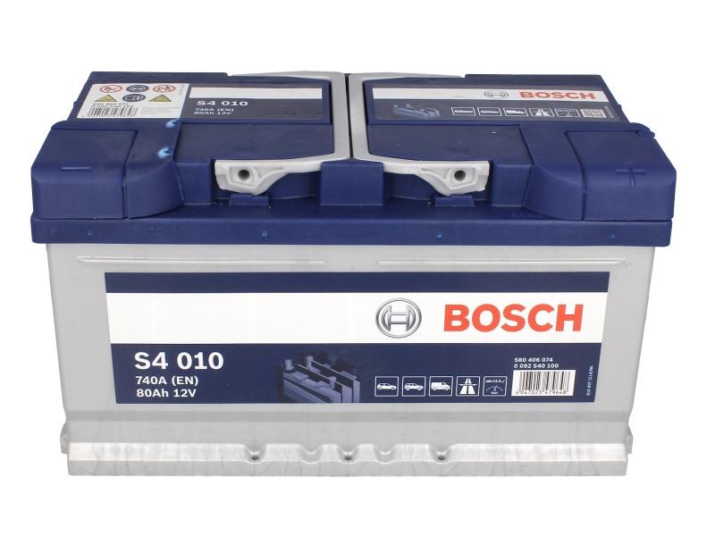 BOSCH 80Ah/740А S4 R+