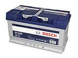 BOSCH 80Ah/740А S4 R+, фото 3