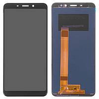 Дисплей для Meizu M6s (M712H, M712Q), модуль в сборе (экран и сенсор), черный, оригинал