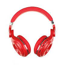 Беспроводные Bluetooth наушники Bluedio T2 Plus со встроенным радио (Красный), фото 2