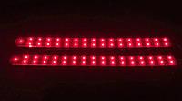 Светодиодные ленты, стоп сигналы автомобильные стоп-сигналы две полосы, 76 диодов 32см