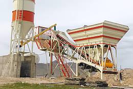 Мобильный бетонный завод MESAŞ BETON MESMOB - 80