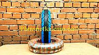 Покрышка на скутер 3.50-10 (TW) Boss синяя TL бескамерная