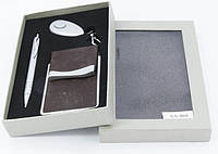 Оригинальный подарочный набор, для автомобилиста, визитница стильный подарок для мужчин и женщин (АА-068)