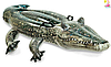 """Детский надувной плотик Intex 57551 """"Крокодил"""", 86 на 170 см, фото 2"""