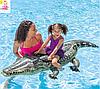 """Детский надувной плотик Intex 57551 """"Крокодил"""", 86 на 170 см, фото 3"""