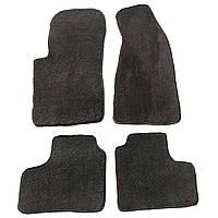 Текстильные автомобильные коврики в салон Chevrolet NIVA Нива Шевроле, комплект черных автоковриков из ворса