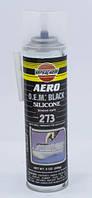 Термостойкий медный силиконовый герметик для прокладок черный с медью под пистолет (88898)