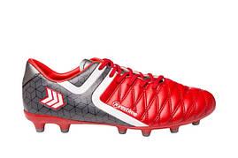 Бутсы для футбола Restime (RED WHITE\D.GREY)
