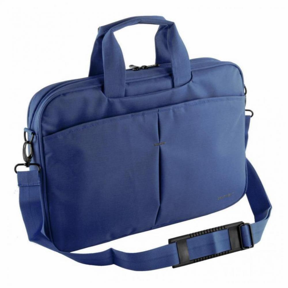 """Сумка для ноутбука 15.6"""" Continent CC-012 Blue Сумка для ноутбука с вертикальной загрузкой. Имеет стенки из пенообразного материала для защиты ноутбук"""