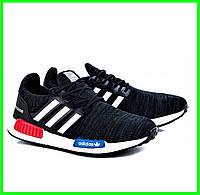 Кроссовки Adidas Чёрные Мужские Адидас (размеры: 40,41,42,43,44) Видео Обзор