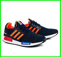 Кроссовки Adidas Мужские Адидас Синие (размеры: 40,41,42,43,44) Видео Обзор