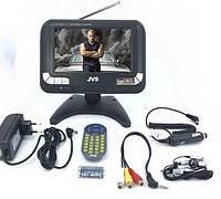 Автомобильный телевизор 7 дюймов,DVD плеер, на панель, для бусиков и микроавтобуса на торпеду пр-во JVS (720)