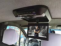 Автомобильный потолочный телевизор 8.4 дюймов, DVD плеер, для буса, автобуса крепится к потолку в авто (JVS)