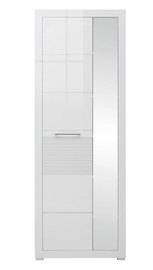 Шкаф с зеркалом REG1L1D/20/7БРВ-Украина «Флеймс»