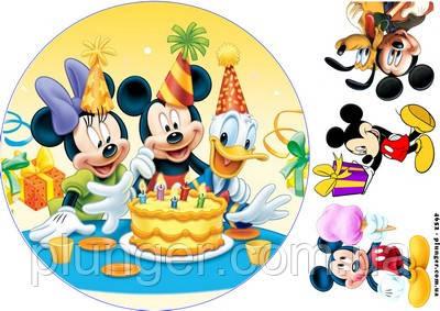 Торты Микки Маус 90 шт ПРЕМИУМ-класса. Цены уже на сайте! | 283x400