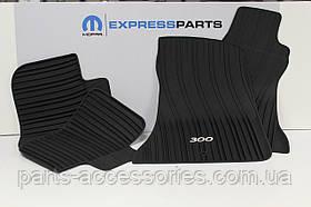 Chrysler 300 коврики резиновые передние задние новые оригинал 2011-14 задний привод