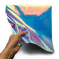 SMTF Hologram Chameleon Blue 0.50 m (Голографическая голубая хамелеон пленка)