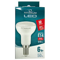 Лампочка  светодиодная Titanium R50  6W E14 4100K