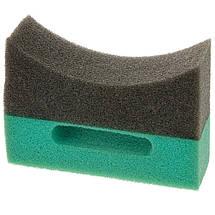 Аппликатор для чернения резины - Martin Cox American Style Grey/Green HD Tyre Dressing Applicator (MOGG138L), фото 3