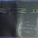 Кожаный кошелек, клатч Harley, фото 3