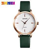 Наручные часы Skmei 1457 Gold-White-Green