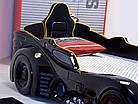 Кровать-машина Автомобиль Бетмена пластиковая Турция, фото 3
