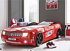 Кровать-машина Chevrolet Camaro пластик красная, фото 2