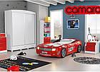 Кровать-машина Chevrolet Camaro пластик красная, фото 3