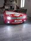 Кровать-машина Chevrolet Camaro пластик красная, фото 4