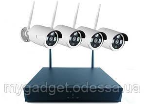 WiFi комплект видео-наблюдения  Full KIT W04-200 (4 шт)