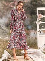 Платье женское в стиле Бохо Bouquet Berni Fashion