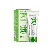 Пенка для умывания с экстрактом алое вера BIOAQUA Aloe Vera 92% Cleanser 100г Оригинал Биоаква, фото 3