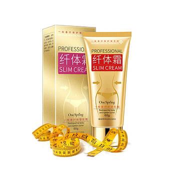 Крем для похудения One Spring Slimming Shaping Cream от целлюлита 60 г.