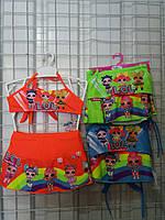 """Детский купальник  для девочки """"LOL"""" 3-7 лет, цвет уточняйте при заказе"""