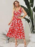 Сарафан женский в стиле Бохо Roses Berni Fashion