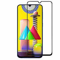 Скло 5D Samsung Galaxy M31 (2020) Чорний