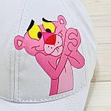 Кепка белая женская розовая пантера, фото 4