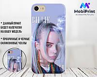 Силиконовый чехол для Apple Iphone 6 plus_6s plus Билли Айлиш (Billie Eilish) (4005-1603)