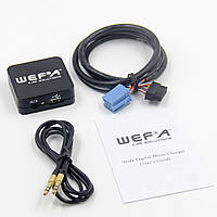 Эмулятор cd чейнджера WEFA WF-605 usb aux для штатной магнитолы Audi