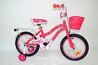"Дитячий велосипед Remmy Lucy 16"" рожевий"